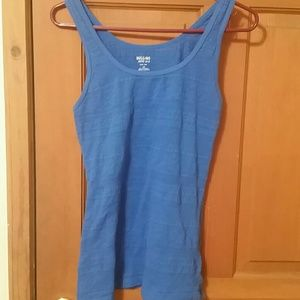 Mossimo supply co. LARGE blue tank top